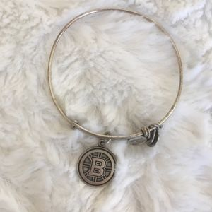 alex and ani / boston bruins adjustable bracelet